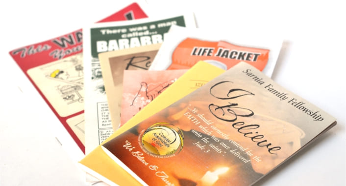 Tracts, Song Books